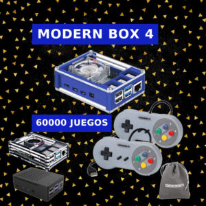 Consolas Modern Box 4 SNES | Retrogaming Factory
