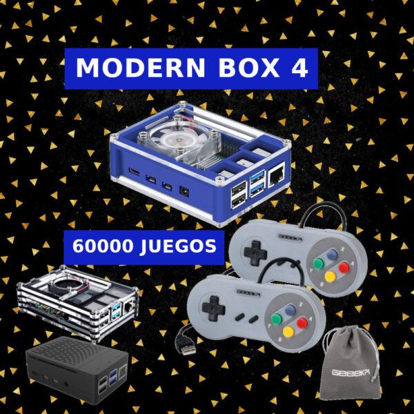 Consolas Modern Box 4 SNES | Retrogaming Factory