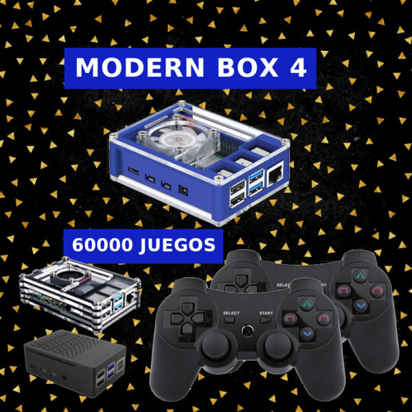 Consolas Retro Modern Box 4 PS3   Retrogaming Factory