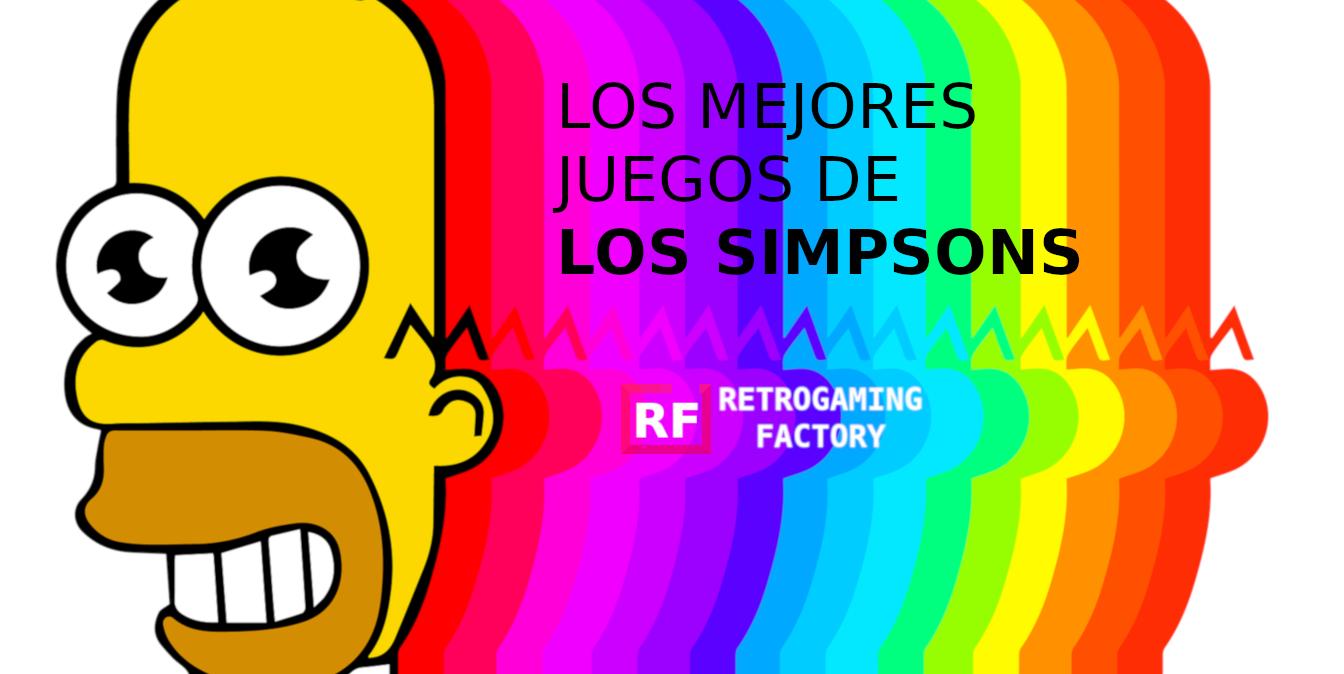 Los mejores juegos de Los Simpsons
